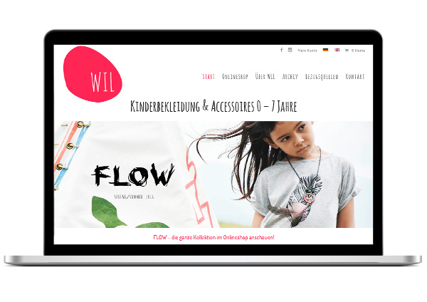 What I Like – Online Shop & Social Media